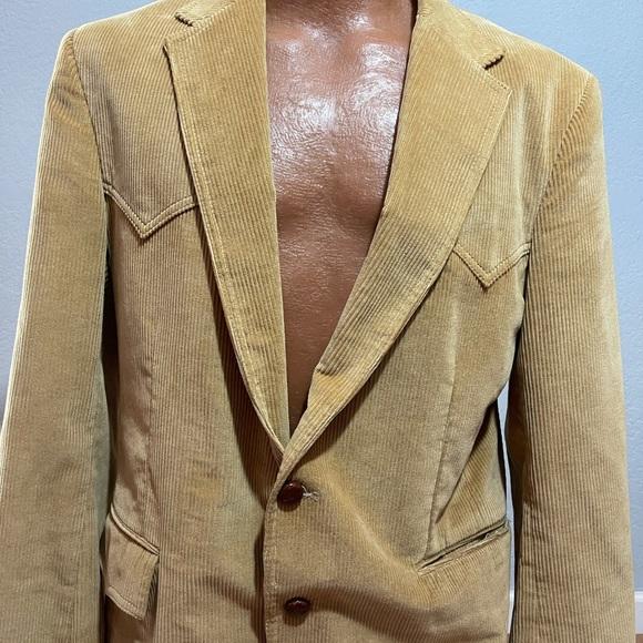 Vintage Levi's Western Wear Corduroy Coat
